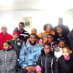 Coat Giveaway with Greg K Monroe in Detroit, MI